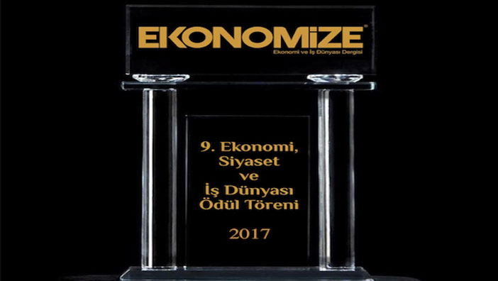 Ekonomize 9. Ekonomi Siyaset ve İş Dünyası Zirvesi Ödül Töreni Artık İstanbul'da