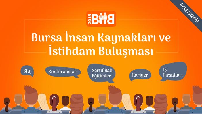 Bursa İnsan Kaynakları ve İstihdam Buluşması 1 Kasım'da Başlıyor!