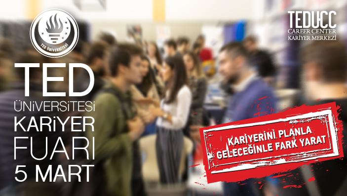 TED Üniversitesi Kariyer Fuarı'na Davetlisiniz!