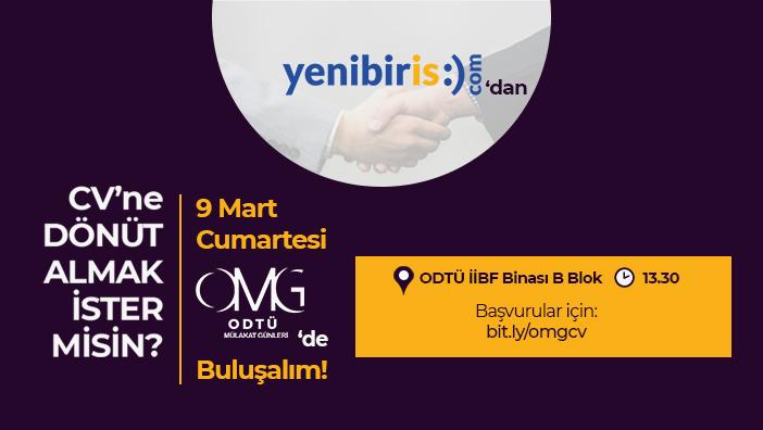 ODTÜ Mülakat Günleri Yeniden 9 Mart'ta ODTÜ'de!