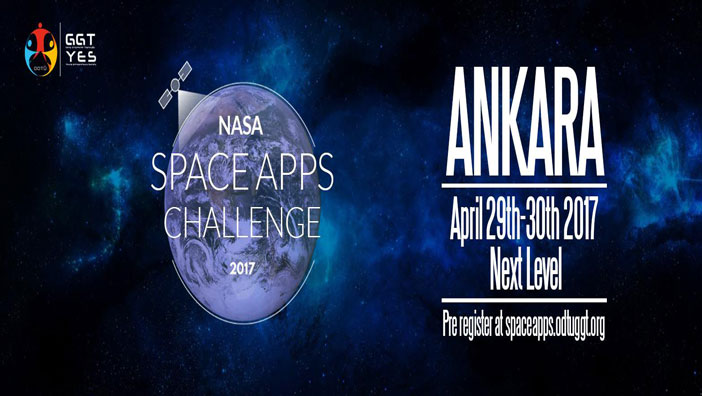 NASA Space Apps Challenge 29 Nisan'da Başlıyor!