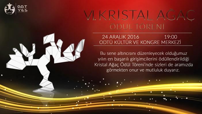 6. Kristal Ağaç Ödül Töreni 24 Aralık'ta Başlıyor!