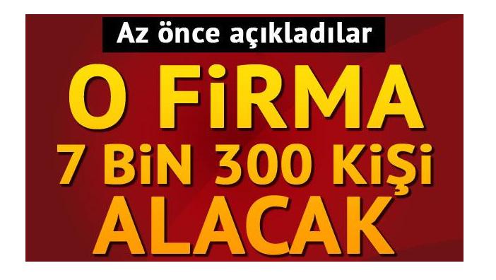 Türkerler Holding 7 bin 300 kişiyi işe alacak!