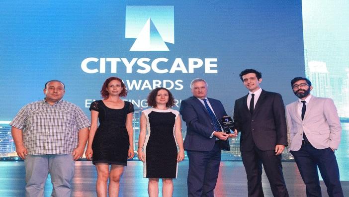 PAB Mimarlık'a Cityscape Awards'dan ödül!