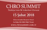 CHRO Summit İK Liderlerinin Büyük Buluşmasına  Ev Sahipliği Yapacak