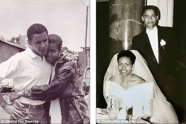 Barack-Michelle-Obama-Young-Wedding-Dating-Photo-1