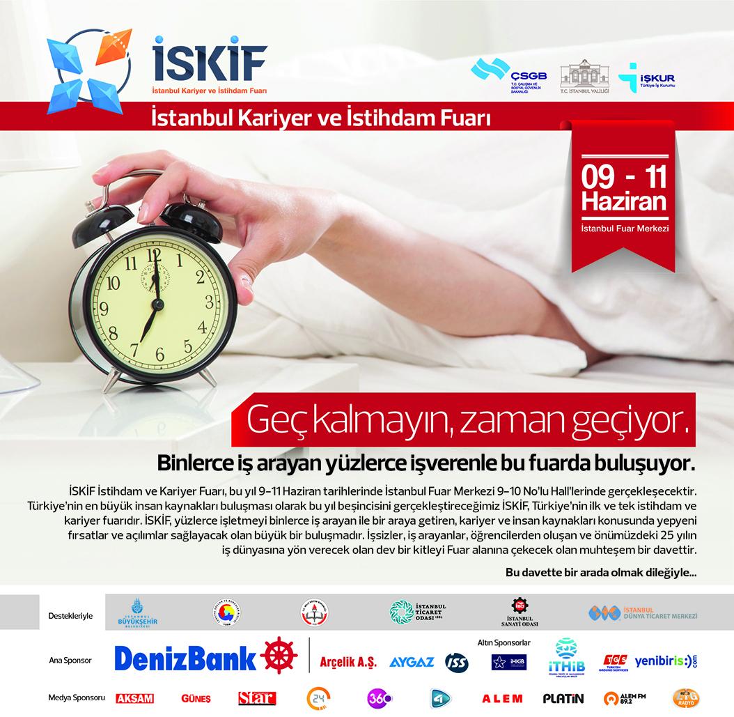 Yenibiris.com İSKİF İstihdam Fuarı'nda