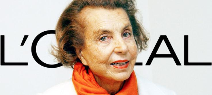 Liliane-Bettencourt-LOreal-heiress