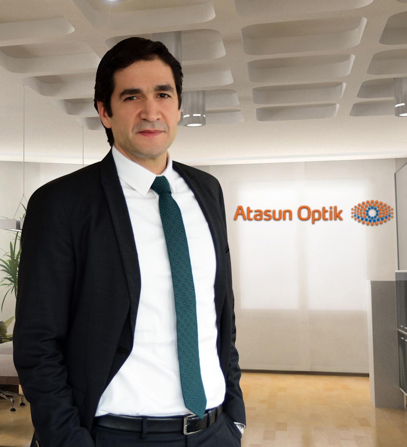 Atasun Optik'e yeni genel müdür