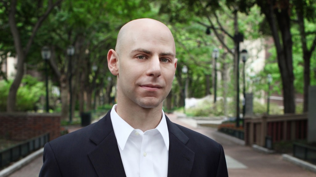 Adam Grant is a professor at the Wharton School of the University of Pennsylvania and the author of Originals